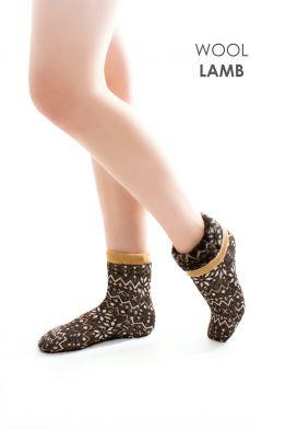 Носки меховые эластичные СКАНДИ