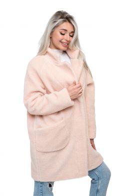 Пальто THE BARREL цвет Пудра