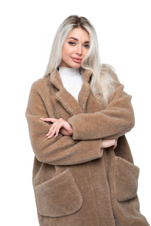 Пальто THE BARREL CAMEL цвет Кемел