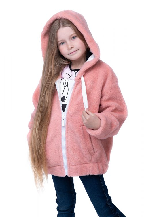 ХУДИ FOR CHILDREN WOOL цвет Лосось